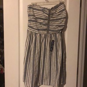 New Gap Tubetop Dress